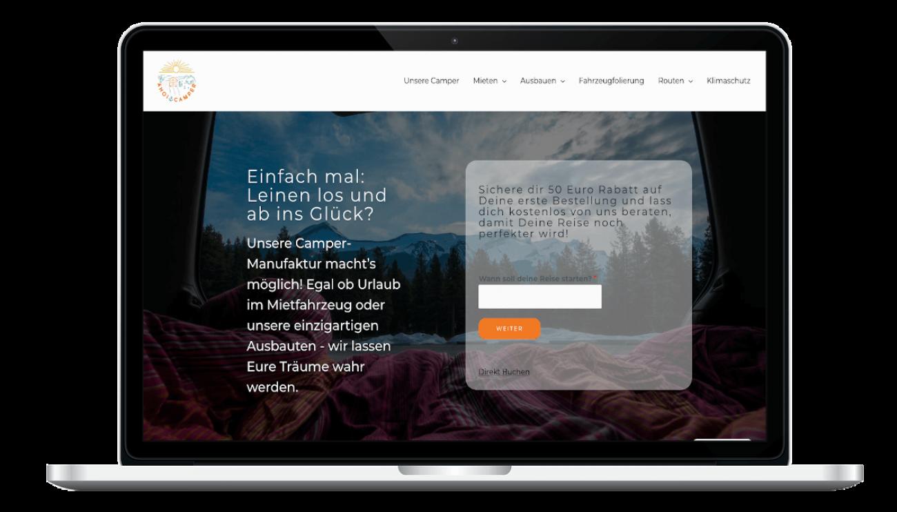 Ahoi Camper_Website