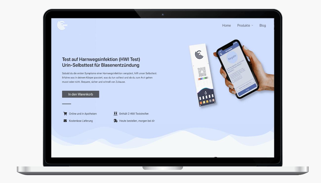Casc-health_Website